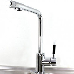JollyHome - JollyHome Modern Style Kitchen Faucet with Filter - Complete parts and all install fittings are included.Water pressure tested for industry standard.Easy to keep clean and maintain.Ceramic valve core