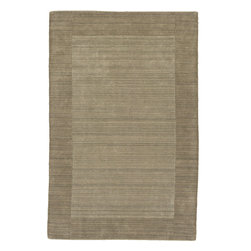 "Kaleen - Kaleen Regency Regency (Taupe) 5' x 7'9"" Rug - Regency offers an array of fourteen beautifully elegant subtle tones for today's casual lifestyles. Choose from rich timeless hues shaded with evidence of light brush strokes. These 100% virgin wool, hand loomed rugs are sure to add comfort and warmth to any setting. Hand crafted in India."