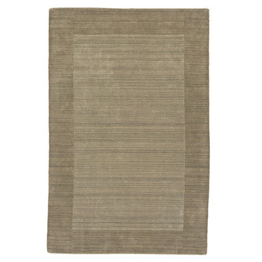 """Kaleen - Kaleen Regency Regency (Taupe) 5' x 7'9"""" Rug - Regency offers an array of fourteen beautifully elegant subtle tones for today's casual lifestyles. Choose from rich timeless hues shaded with evidence of light brush strokes. These 100% virgin wool, hand loomed rugs are sure to add comfort and warmth to any setting. Hand crafted in India."""