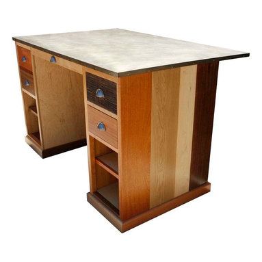 Desks - Tall modern partners desk, or it it a artist desk or maybe the perfect reception desk?