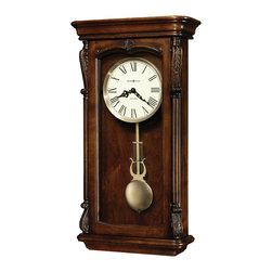 Howard Miller - Howard Miller Dual Chime Kieninger Movement Vintage Wall Clock | HENDERSON - 625378 Henderson
