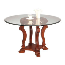 Bassett Mirror - Bassett Mirror Remson Dining Table D2726-700-095EC - Bassett Mirror Remson Dining Table D2726-700-095EC