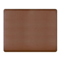WellnessMats - Wellness Mats Floor Mat Original 5'x4', Brown - As in all of our mats, the Original smooth surface is incredibly supportive, resilient and feels like heaven on your feet. It is easy-to-clean, will never curl or delaminate and, of course, it provides unprecedented comfort and relief while you stand.