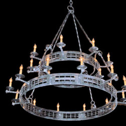 Mississippi River Chandelier - Inspired by the men and women that tamed a wild country, our artisans pay homage to the spirit, soul, and ingenuity of their forbearers by transforming the frontier mystique into functional art.