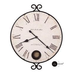"Howard Miller - Howard Miller 25"" Callery Wall Clock  | MAGDALEN - 625310 MAGDALEN"