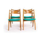 Vintage Danish Modern Dining Chairs -