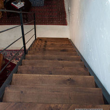 Industrial Staircase by J. Ryan Duffey Architect