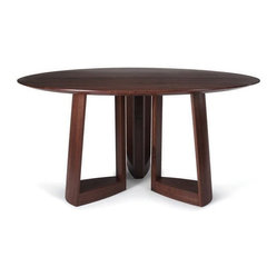 Skram - Lineground Round Dining Table : Skram - Lineground Round Dining Table -
