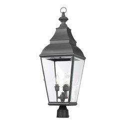 Elk Lighting - Elk Lighting 5217-C Outdoor Post Light - Elk Lighting 5217-C Outdoor Post Light