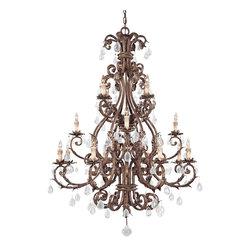 Savoy House - Savoy House 1-5308-16-8 Chastain 16 Light Chandelier - Savoy House 1-5308-16-8 Chastain 16 Light Chandelier