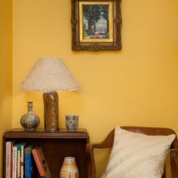 Ziqi Home - Silk Organza Ruggled Lampshade - Features voluminous ruffles to add couture to your space.