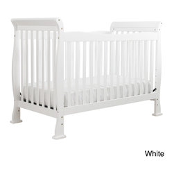 DaVinci - DaVinci Reagan 4-in-1 Convertible Crib with Toddler Rail - This revolutionary 4-in-1 crib will add the final touch to your little one's bedroom. The Reagan Crib is built for safety and style. Its versatile construction means it can be converted from a crib to a toddler bed, daybed, or full-sized bed.