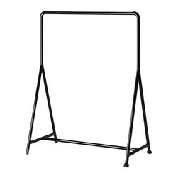 Marcus Arvonen - TURBO Clothes rack - Clothes rack, black
