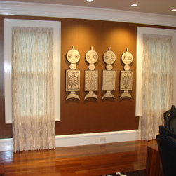 Hand-crafted Window Treatments -