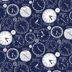 Loboloup - World Clocks, Deep Blue, Roll - Tick-tock, tick-tock. Telling time, it's universal.