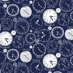 Loboloup - World Clocks, Deep Blue, Roll - Tick-tock, tick-tock. Telling time, it's universal.