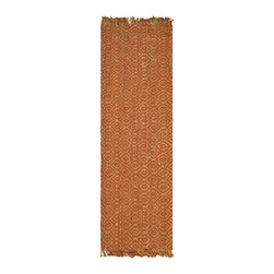 Safavieh - Safavieh Natural Fiber Casual Rug X-82-A544FN - Hand-woven with natural fibers, this casual area rug is innately soft and durable.  This densely woven rug will add a warm accent and feel to any home.  The natural latex backing adds durability and helps hold the rug in place.