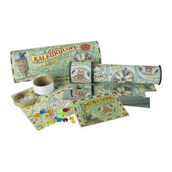 """Kids Seeing Stars Kaleidoscope Kit - The kids seeing stars kaleidoscope kit measures 8.6 x 2.6 x 2.7"""". Looking for the first time through the eyepiece of a classic kaleidoscope is a lasting memory for many little ones. Now add to this the unique excitement of assembling their own... Get to understand the workings of focus, reflecting mirrors and geometric patterns. Easy to create, highly interactive. No major tools needed, just some patience."""