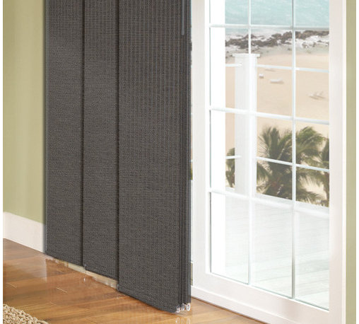 Comfortex - Comfortex Envision Panel Track Blinds: SilverScreen Reflective Fabric (4% Openne - Comfortex Sliding Panels offer a modern alternative to standard window treatments that's perfect for patio doors, wide windows or as a room divider.  Solar shades allow you to maintain your view minimizing glare, blocking damaging UV rays and reducing heat transmittance.  SilverScreen has a 4% openness factor.