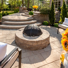 Contemporary Firepits by Techo-Bloc