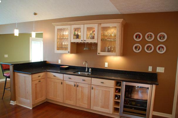 Modern Family Room by Hurst Design Build Remodeling