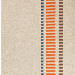 """Jaipur Rugs - Grant Design I-O Beige/Brown Stripe Rug - Features: -Technique: Hooked.-Material: Polypropylene.-Origin: China.-Indoor and outdoor style.-Durable.-Easy Care.-Looped.-Luxurious and unique.-Polyester is dirt and stain resistant and will look great for a long time just by vacuuming regularly.-Dries fast so deep steam/rug cleaning works great to release dirt from fiber.-If spills occur blot immediately.-Use rug/carpet cleaners that are safe on synthetic fibers.-Use professional cleaning agents only.-To vacuum use an attachment arm or suction only to remove dirt particles.-Construction: Handmade.-Collection: Grant design I-O.-Distressed: No.-Collection: Grant Design I-O.-Construction: Hand Hooked.-Technique: Indoor & Outdoor.-Primary Pattern: Stripe.-Primary Color: Silver Gray.-Border Material: Polypropylene.-Border Color: Silver Gray.-Type of Backing: Latex backing.-Material: Polypropylene.-Fringe: No.-Reversible: No.-Rug Pad Needed: No.-Water Repellent: No.-Mildew Resistant: No.-Stain Resistant: No.-Fade Resistant: No.-Eco-Friendly: No.-Outdoor Use: Yes.-Product Care: (1) Polyester is dirt and stain resistant and will look great for a long time just by vacuuming regularly, (2) Dries fast so deep steam/rug cleaning works great to release dirt from fiber, (3) If spills occur blot immediately, (4) Use rug/carpet cleaners that are safe on synthetic fibers, (5) Use professional cleaning agents only, (6) To vacuum use an attachment arm or suction only to remove dirt particles.Specifications: -CRI certified: No.-Goodweave certified: No.Dimensions: -Pile height: 0.25"""".-Pile Height: .25"""".-Overall Product Weight (Rug Size: 2' x 3'): 2.4 lbs.-Overall Product Weight (Rug Size: 3'6"""" x 5'6""""): 7.7 lbs.-Overall Product Weight (Rug Size: 5' x 7'6""""): 15 lbs.-Overall Product Weight (Rug Size: 7'6"""" x 9'6""""): 28.5 lbs.Warranty: -Product Warranty: 60 Days."""