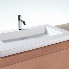 Bathroom Sinks by WETSTYLE