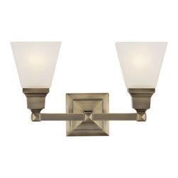 Livex Lighting - Livex Lighting 1032-01 Bath Light - Glass Type/Shade Type: Satin Glass
