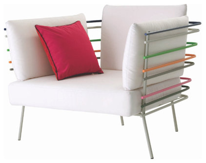 Modern Outdoor Lounge Chairs by Flodeau