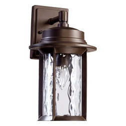 "Quorum Lighting - Quorum Lighting Charter Transitional Outdoor Wall Sconce X-68-7-6427 - Charter 7"" Lantern - Oiled Bronze"