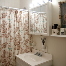 Eclectic Bathroom by Lauren Gries