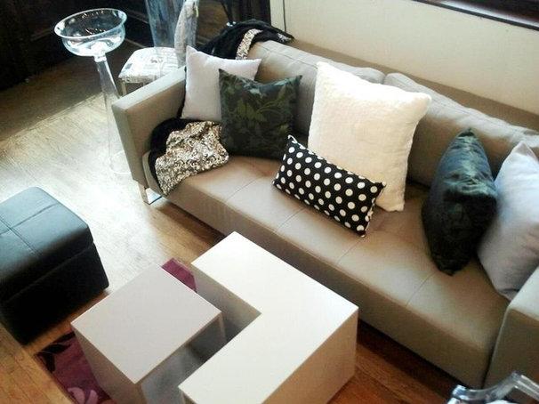 Modern Living Room Home Styling