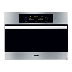 "Miele 24"" Steam Oven with Convection Steam Cooking - For those who love to cook, having a separate steam/convection oven offers a new dimension to healthy, flavorful cooking."