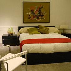 Contemporary Bedroom by Interior Illusions Inc