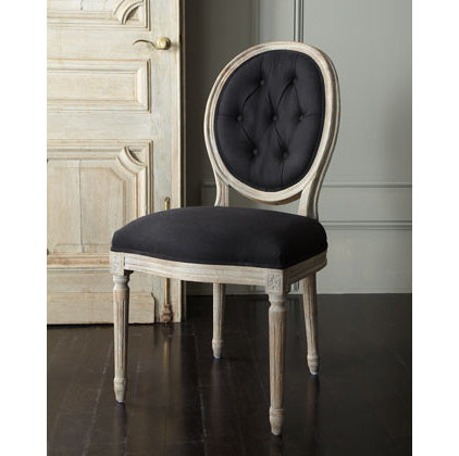Transitional Dining Chairs by Horchow