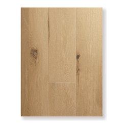 Creme White - Engineered Prefinished Hardwood Flooring