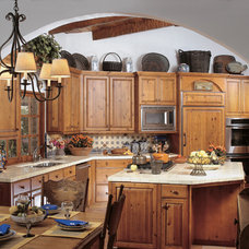 Traditional Kitchen by Canyon Creek Cabinet Company