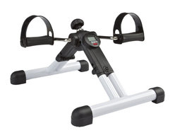 Carepeutic® - Carepeutic® BetaFlex Portable Dual Exercise Bike - Beautiful sunshine, fresh air, enjoy this fabulous outdoor moment while you are working out on your legs with this BetaFlex® Portable Dual Exercise Bike. Its fully assembled and yet foldable design allows you to carry this exercise bike with you anywhere you go. You can exercise at home, in the backyard, by the pool side, at the beach, in the office, or even on the go! Extremely convenient for outdoor exercise. With its stepless tension control and digital counter, choose the resistance level based on your need, sit back and workout your legs and calf to improve body circulation and regain your muscle strength.