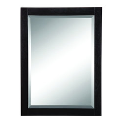 "DecoLav - Decolav 9719-BKA Briana Wall Mirror in Black - Decolav 9719-BKA Briana Wall Mirror in BlackDECOLAV's Briana Collection is artfully crafted while not sacrificing style or function. The rectangular 24""Wx1.5""Dx32""H mirror is classic in style featuring a thick wooden frame. Its intriguing design adds the final touch to your bathroom style. Decolav 9719-BKA Briana Wall Mirror in Black, Features:&#149 Part of the Briana Bath Furniture Collection"