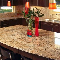 Modern Kitchen Countertops by Colonial Granite Works