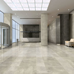 Simply Creme / Tan - Simply Modern is a contemporary collection offering a stunning array of urban tones with a stained concrete appearance. Five colors and three sizes available with corresponding accent pieces and beautiful matte recycled glass mosaic. Simply put…it's Simply Modern.