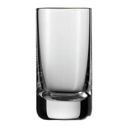 Schott Zwiesel - Schott Zwiesel Tritan Convention Shot Glasses - Set of 6 - 0005.175545 - Shop for Drinkware from Hayneedle.com! Even a mini-drink can be elegant and stylish with the Schott Zwiesel Tritan Convention Shot Glasses - Set of 6. The durable and beautiful scratch-resistant clear glass is the perfect complement to any occasion. The dishwasher-safe design means easy cleaning.About Fortessa Inc.You have Fortessa Inc. to thank for the crossover of professional tableware to the consumer market. No longer is classic high-quality tableware the sole domain of fancy restaurants only. By utilizing cutting edge technology to pioneer advanced compositions as well as reinventing traditional bone china Fortessa has paved the way to dominance in the global tableware industry.Founded in 1993 as the Great American Trading Company Inc. the company expanded its offerings to include dinnerware flatware glassware and tabletop accessories becoming a total table operation. In 2000 the company consolidated its offerings under the Fortessa name. With main headquarters in Sterling Virginia Fortessa also operates internationally and can be found wherever fine dining is appreciated. Make sure your home is one of those places by exploring Fortessa's innovative collections.