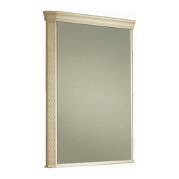 "London 32"" 5/8 classic mirror. Ivory patina - London mirror 32"" 5 /8.Ivory Patina"