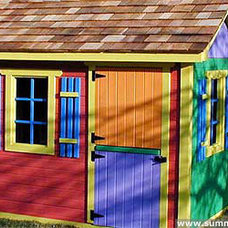 Traditional Outdoor Playhouses by Summerwood