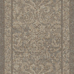 "Dynamic - Mysterio 31"" Runner Casual Stair Runner - Stair & Hallway Runners Are Sold By The Linear Foot!  Quantity 1 = 1 Linear Ft  All Sides Are Finished   Mysterio 1217-900 31"
