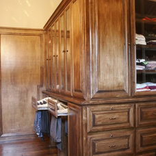 Traditional Closet Organizers by C&S Cabinets, Inc