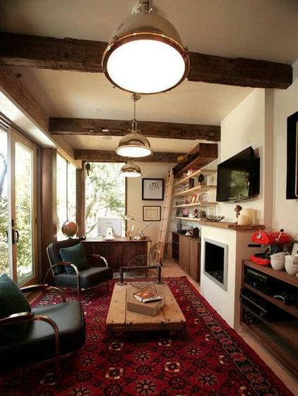 Rainn Wilson's Home Office Man Cave
