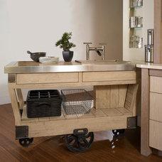 Contemporary Kitchen by William Draper Cabinetmaker
