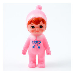 Lapin and me - Woodland doll by Lapin and me, Bright Pink No Ears - Welcome the cutest dolls on earth! Vintage look and colorful outfit, they will make a beautiful decoration or toy for your little one. Stock is limited, so hurry if you like them!