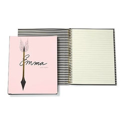 Kate Spade - kate spade Spiral Notebook - Emma - These spiral notebooks by kate spade new york are perfect for any literary or film buff who wants to take down notes or jot down your next brilliant screenplay idea.